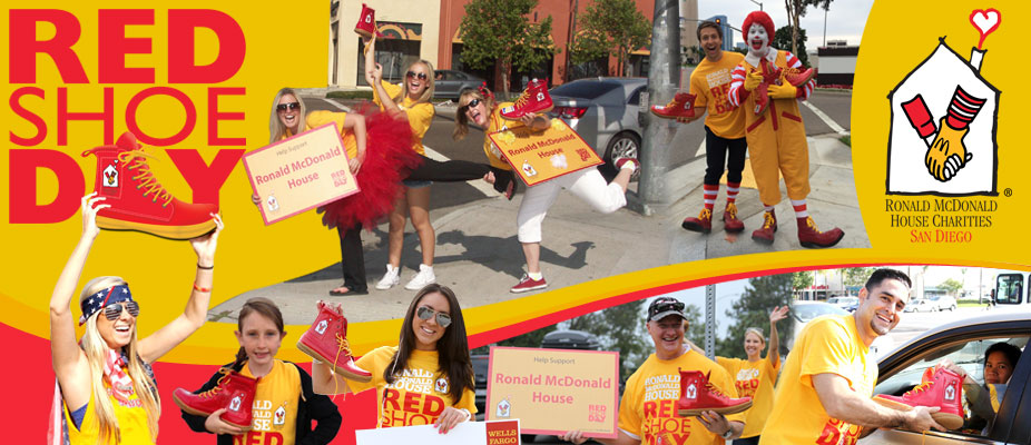 Image result for ronald mcdonald house red shoe day 2018