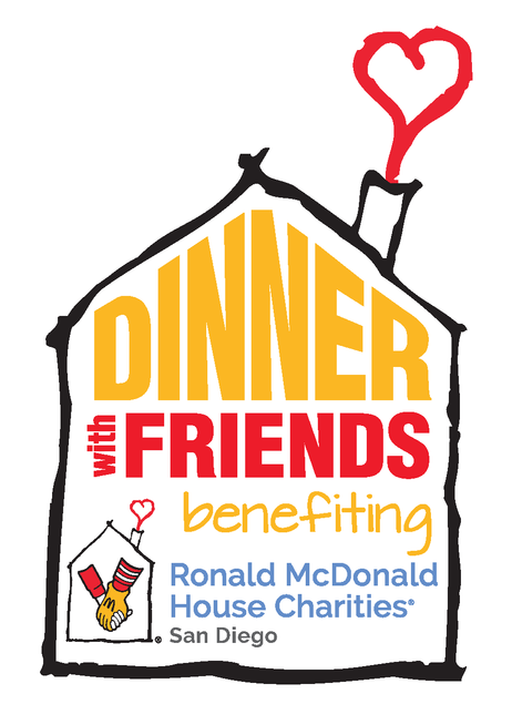 Dinner with friends logo