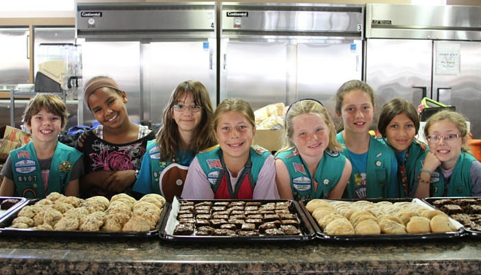 Girl Scout bakers
