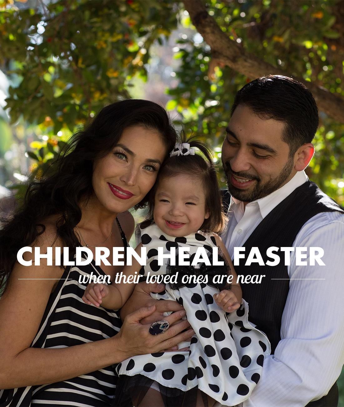 Children Heal Faster – Mission