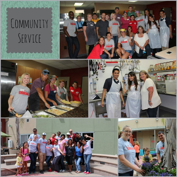 Red Shoe Society Community Service