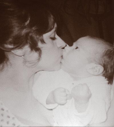 Connie Ojeda Hernandez with son, Matthew