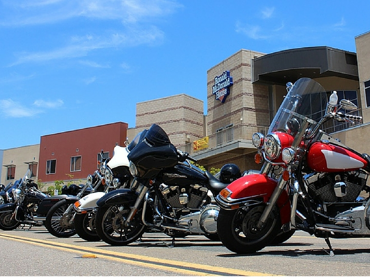 Motorcycle Enthusiasts Ride for Ronald McDonald House