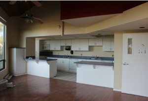 photo of North House kitchen, pre-remodel