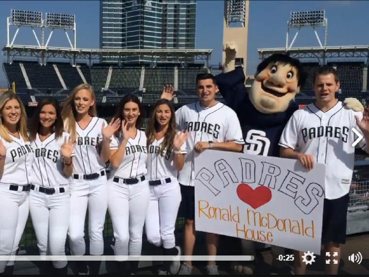 Padres Celebrate New North House