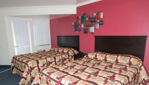 North House Guest Suite beds