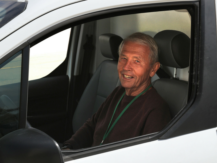 A Heart Stronger Than Ever: Volunteer Driver Richard Ellis