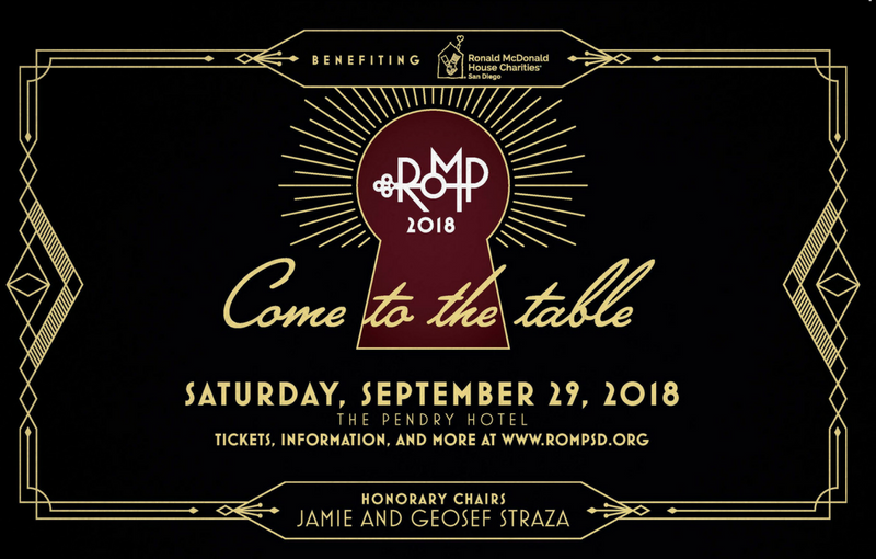 Come to the table saturday september 29, 2018