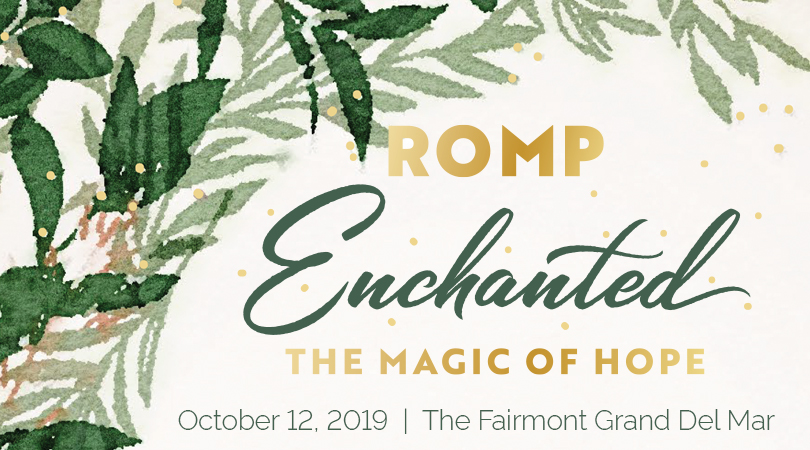ROMP Enchanted Gala October 12, 2019, The Fairmont Grand Del Mar