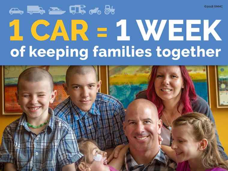Your Vehicle Donation Can Help Keep Families Together!