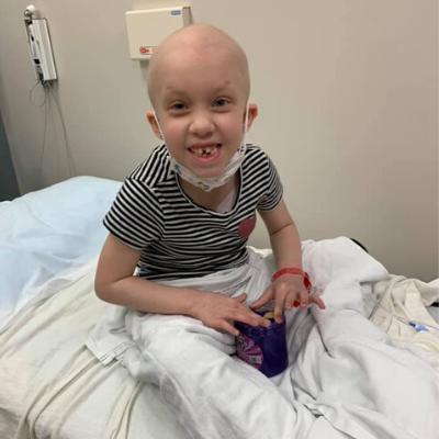 Emma in hospital