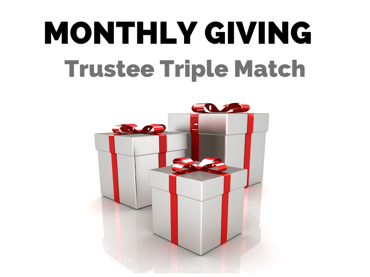 RMHC-SD Trustees to Triple Match Monthly Gifts