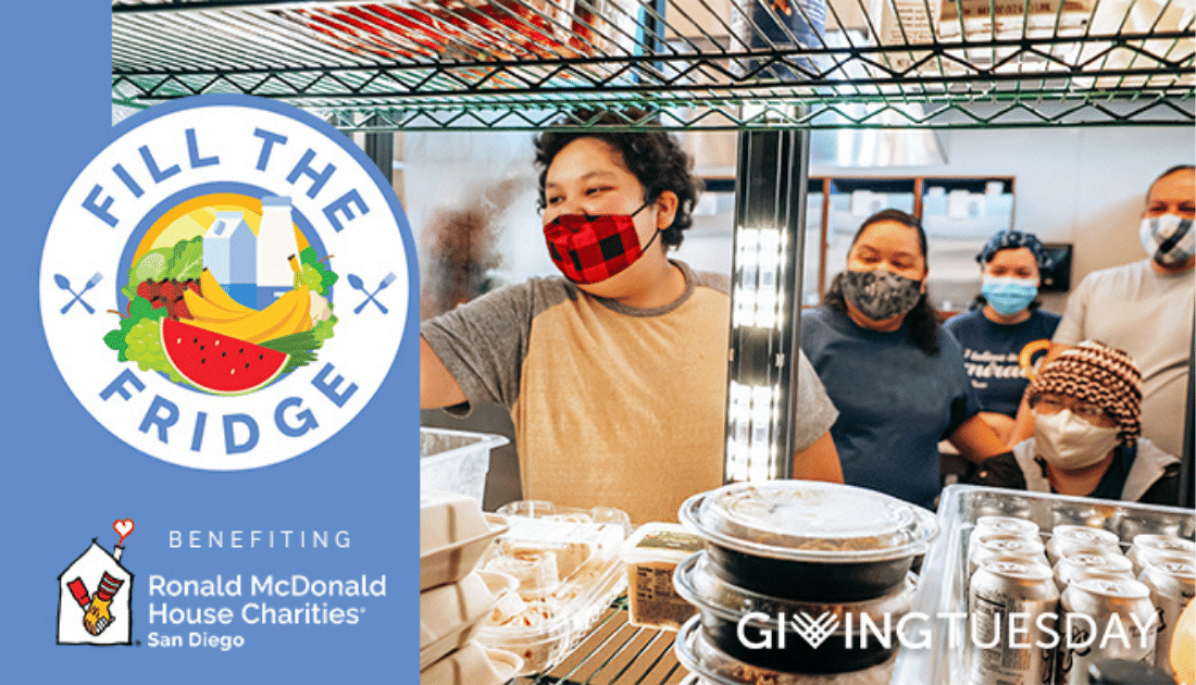 "Giving Tuesday ""Fill the Fridge"" Campaign"