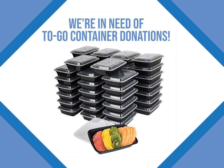 Donate Containers for Meals