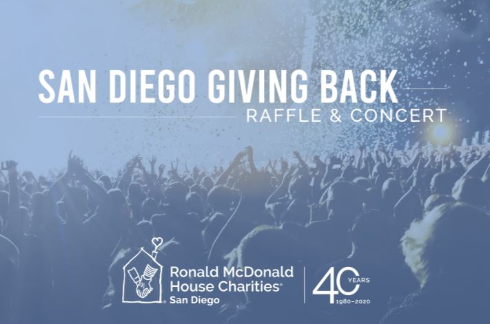 San Diego Giving Back Raffle and Concert