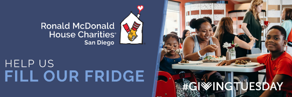 Help us fill our fridge for giving tuesday