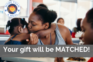 Your gift will be matched!